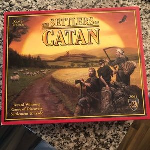NWOT Settlers of Catan. NEVER USED